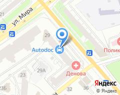 Компания Акватория на карте города