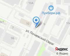 Компания Строитель-2002 на карте города