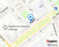 Компания Реал Строй-М на карте города