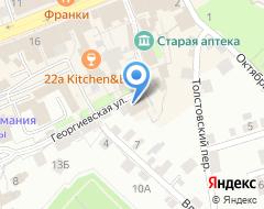 Компания Стройэкспертиза на карте города