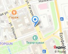 Компания ТЕЗА-СТРОЙ на карте города