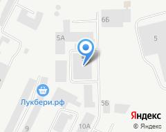 Компания Вертикаль на карте города