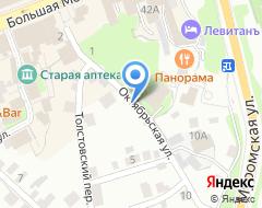 Компания ЛесПром71 на карте города