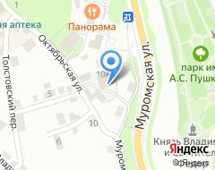 Компания Владпромлес на карте города