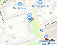 Компания СтандартСтрой на карте города