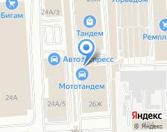 Компания Арт-Деко на карте города