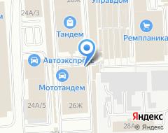 Компания Эффект-дизайн на карте города