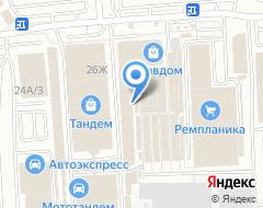 Компания DULUX на карте города