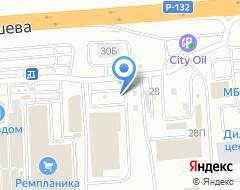 Компания Альфапром на карте города
