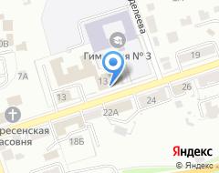 Компания Земельная кадастровая палата, ФГУ на карте города