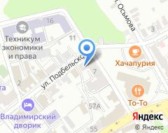Компания Мстерский завод керамических стеновых материалов, ПАО на карте города