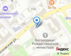 Компания Реставрационно-строительное предприятие Богородице-Рождественского мужского монастыря на карте города