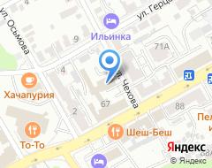 Компания ВладВторПром на карте города