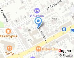 Компания КАНТАТА ГРУПП на карте города