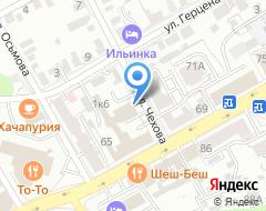 Компания МирСтрой на карте города