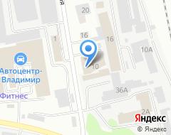 Компания Натяжные потолки во Владимире и области на карте города