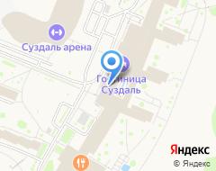 Компания ГТК Суздаль на карте города