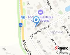 Компания Архангельских на карте города