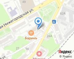 Компания Владимирская строительная компания-А на карте города