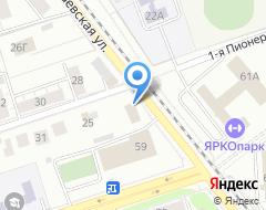 Компания ТеплоВодоКом на карте города