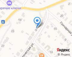 Компания Лайк на карте города