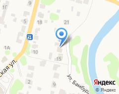 Компания На Бамбурихе на карте города