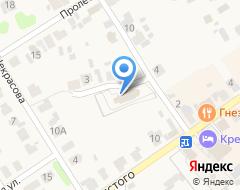Компания Борисоглебская церковь на карте города