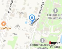 Компания Кучкова на карте города