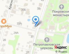 Компания Дом у монастыря на карте города