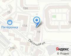 Компания Мастеровой на карте города
