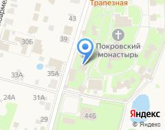 Компания Свято-Покровский женский епархиальный монастырь на карте города