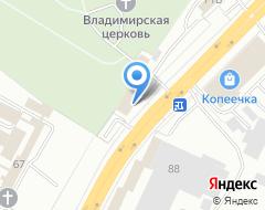Компания Сигма на карте города