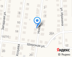 Компания Guest House on Novaya на карте города