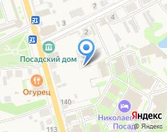 Компания На Пожарского на карте города