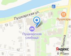 Компания Мещерский скит на карте города
