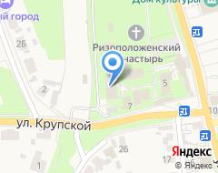 Компания Ризоположенская на карте города