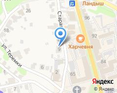 Компания СЕРВИСРЕЗЕРВ на карте города