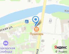 Компания Пушкарская слобода на карте города