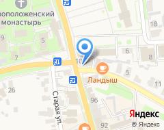 Компания Молодежная на карте города
