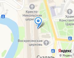 Компания Раздолье на карте города