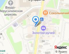 Компания Владимирские узоры на карте города