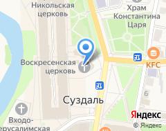 Компания Воскресная церковь на карте города