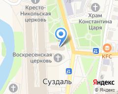 Компания Казанская церковь на карте города