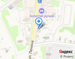 Компания В центре Суздаля на карте города