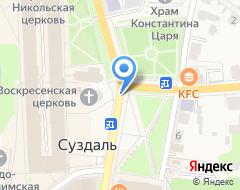 Компания Сурикова на карте города
