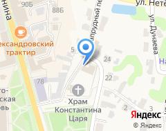 Компания Скорбященская церковь на карте города