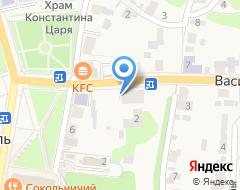 Компания Ризоположенская община на Васильевской на карте города
