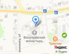 Компания Свято-Васильевский мужской епархиальный монастырь на карте города