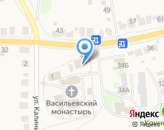 Компания В Васильевском монастыре на карте города