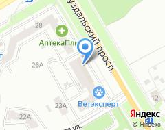 Компания Монострой на карте города